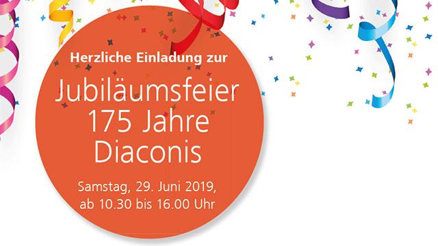Jubilaeumsfeier Diaconis